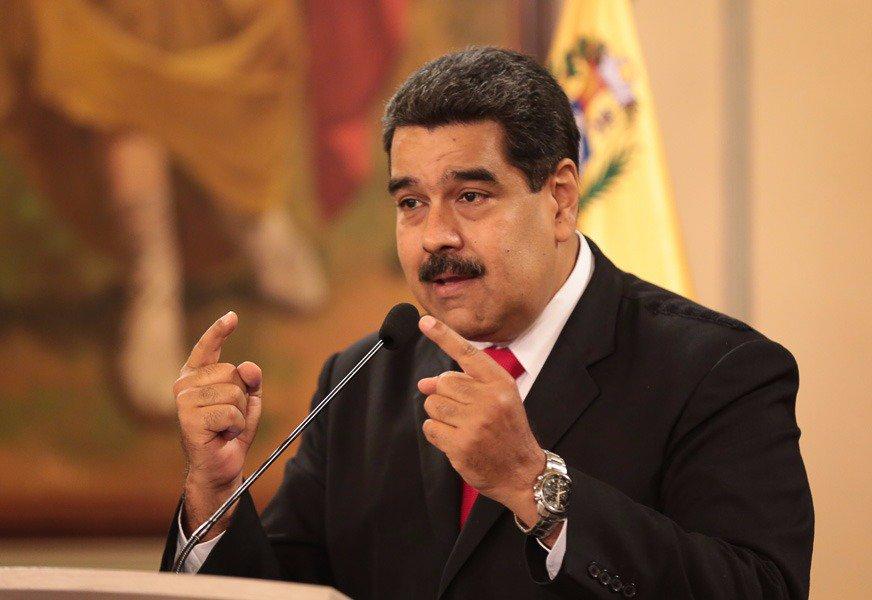 Sursa foto - Twitter Nicolas Maduro