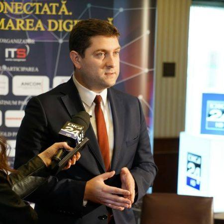 Bogdan Cojocaru, ministrul Comunicaţiilor şi Societăţii Informaţionale.