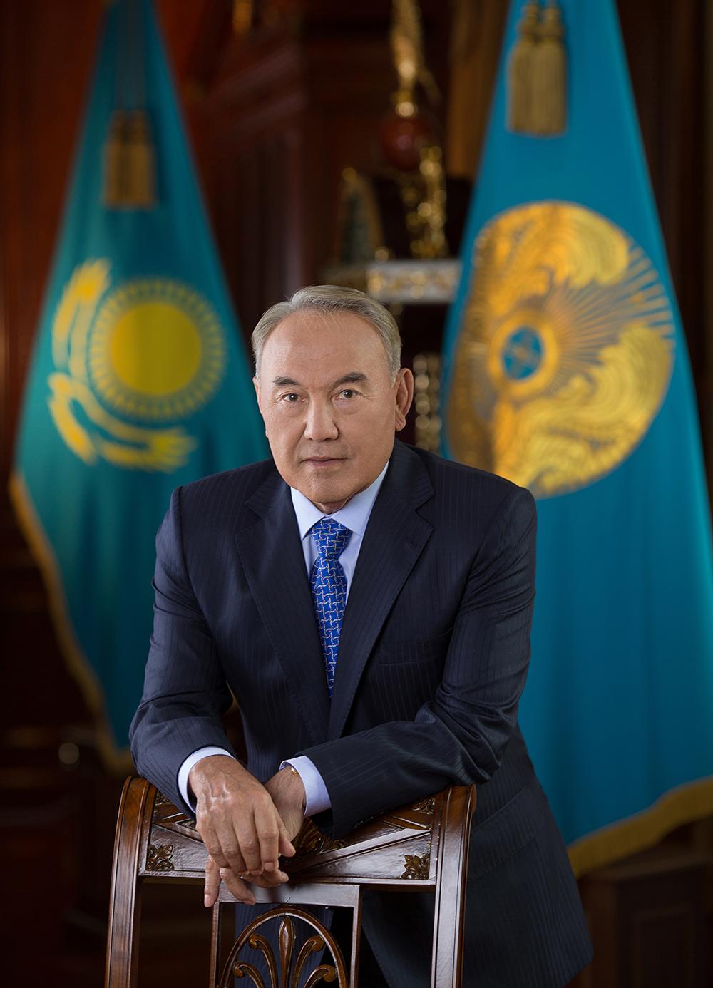 NURSULTAN ABISHEVICH NAZARBAYEV, preşedintele KAZAKHSTAN