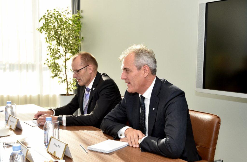 Rainer Seele, preşedintele OMV, s-a întâlnit, săptămâna trecută, cu oficialii Gazprom.
