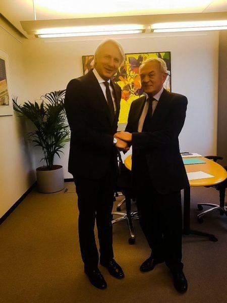 Eugen Teodorovici şi Jean Arthuis.