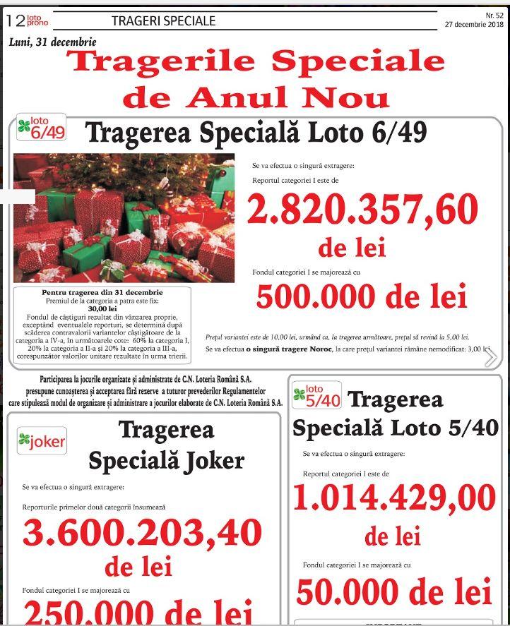 Facsimil 2 - site Loteria Romana