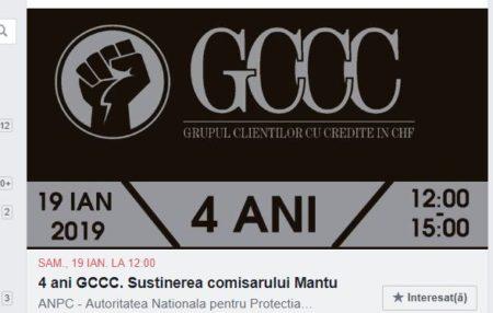 Pe 19 ianuarie, a avaut loc o manifestație autorizată de susținere a comisarului ANPC Dumitru Manțu