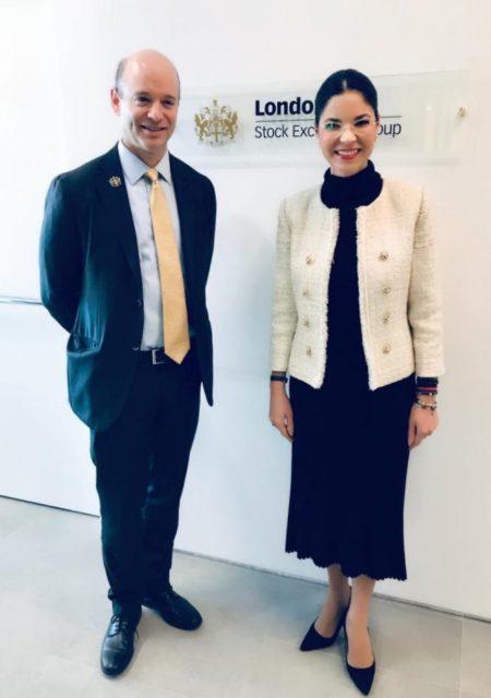 Vicepremierul Ana Birchall a avut o întrevedere cu David Schwimmer, director al London Stock Exchange Group. Cu această ocazie, cei doi oficiali au discutat despre modalitățile de dezvoltare și intensificare a investițiilor britanice în țara noastră,