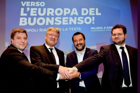 Partidul Alternativa pentru Germania (AfD) va forma un nou grup în Parlamentul European împreună cu Liga, condusă de vicepremierul italian Matteo Salvini, şi cu alte formaţiuni de extremă dreapta, a anunţat luni, la Milano, liderul AfD Joerg Meuthen.