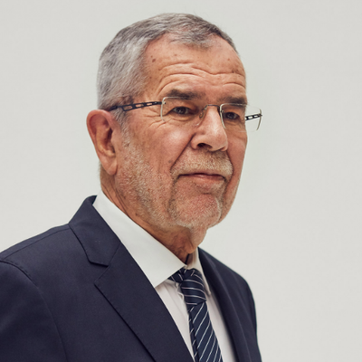 Preşedintele austriac Alexander Van der Bellen (foto twitter)
