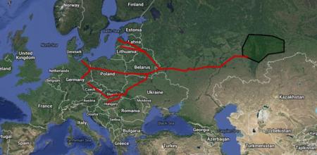 Conducta Drujba, una dintre cele mai lungi din lume, leagă Siberia de Vest de Europa -www.rt.com