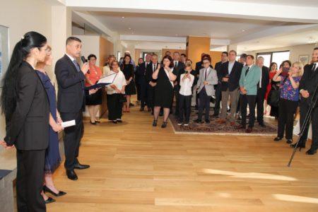 Foto Facebook Ambasada Israelului