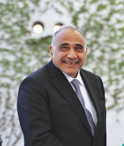 Premierul irakian Abdul Mahdi (gds.gov.iq)