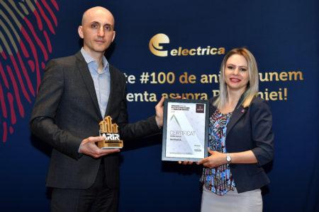 Mihai Darie, CFO, Electrica, Daniela Serban, Presedinte, ARIR