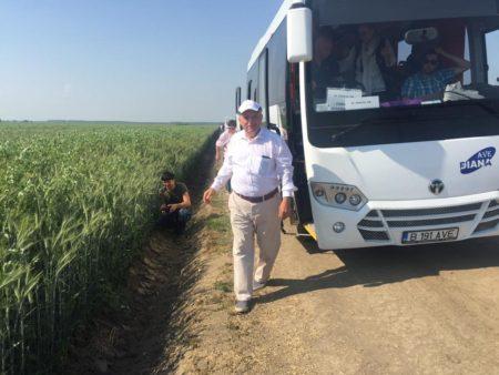 Lucian Buzdugan, directorul general al firmei Agricost Brăila.
