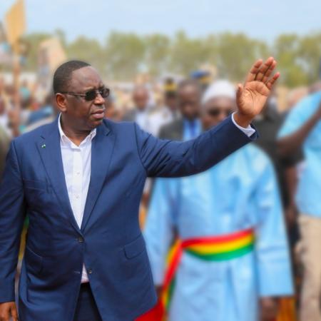 Preşedintele senegalez Macky Sall (foto Facebook)