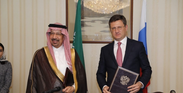 Alexander Novak a mai spus că Rusia și Arabia Saudită au un mare potențial pentru creşterea comerţului dintre cele două ţări şi pentru a implementa noi proiecte.https://minenergo.gov.ru/