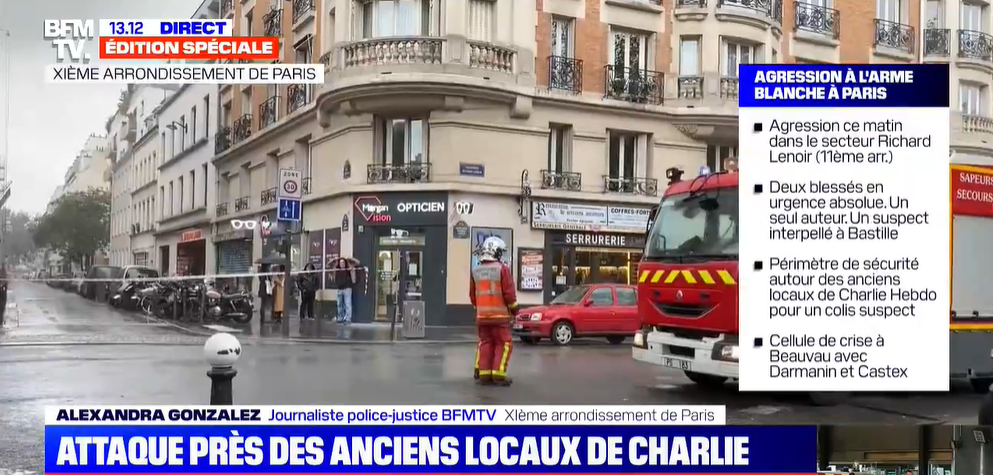atac Franta, Paris