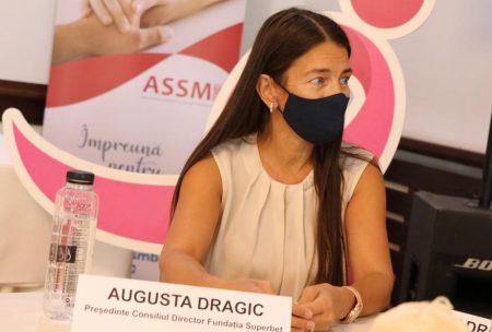 Augusta Dragic, președintele Consiliului Director al Fundației Superbet