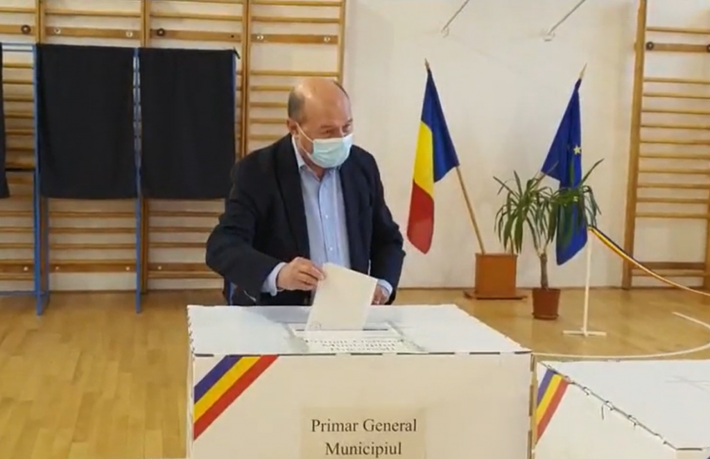Basescu, vot, alegeri
