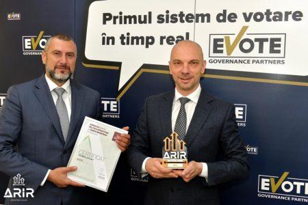 Bogdan Iliescu, Partener & Cofondator eVote & Mihai Chisu, CEO & Cofondator eVote