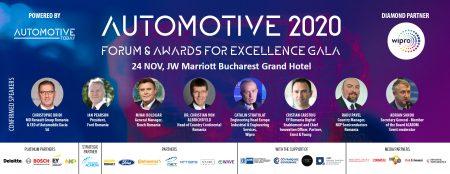 The Diplomat-Bucharest și Automotive Today organizează cea de-a treia ediție a evenimentului AUTOMOTIVE FORUM AND INDUSTRY GALA AWARDS