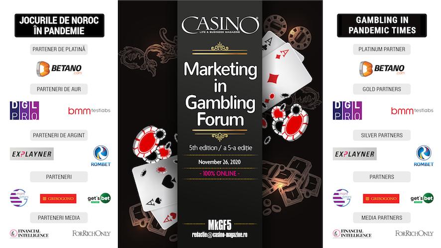 Forumul de Marketing, Casino Magazine