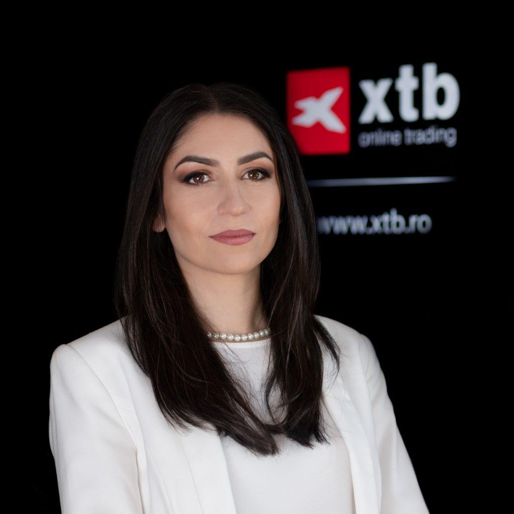 Irina CRISTESCU, GM XTB Romania. raspunde clientilor