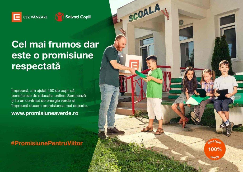CEZ Vanzare, Promisiunea Verde, energie verde
