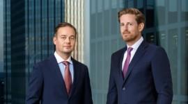 CEO JORG SELBACH-RÖENTGEN (dreapta) SI CFO - TOBIAS MEYER