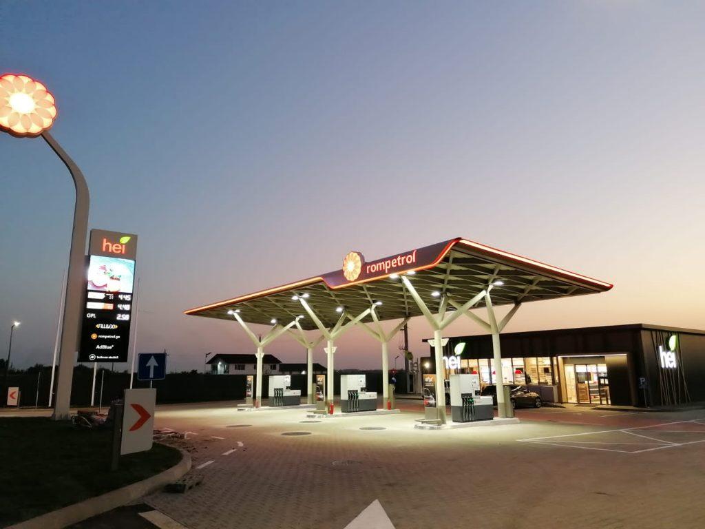 Fondul de Investiții în Energie Kazah-Român a finalizat construcția unei noi benzinării în localitatea 1 Decembrie - Ilfov și ajunge la 10 noi statii deschise în acest an