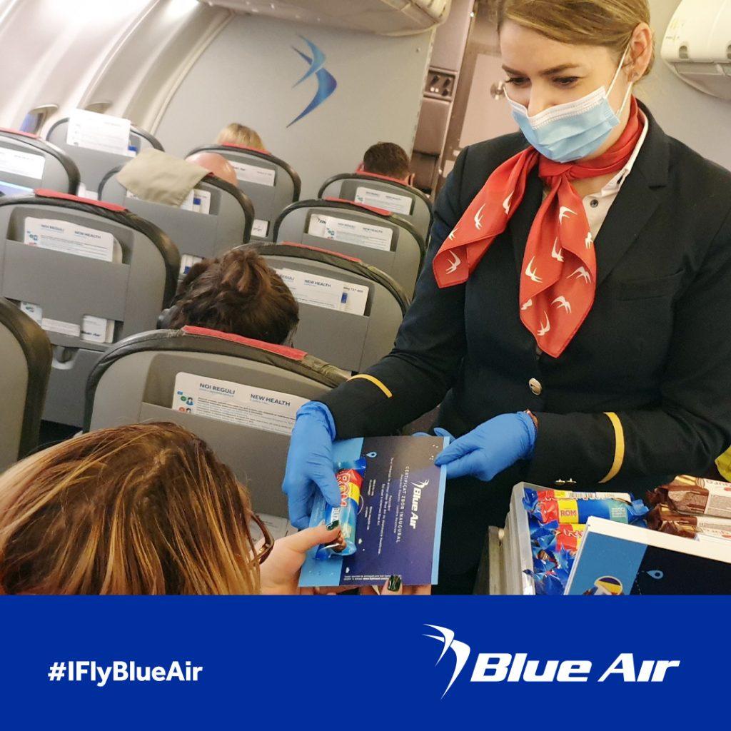 Blue Air a inaugurat primul serviciu low cost zilnic între Londra Heathrow și București pe 1 decembrie
