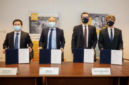 Huawei își extinde colaborările educaționale cu o nouă universitate în Ungaria, Universitatea din Óbuda și Huawei Technologies Ungaria