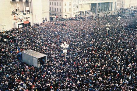 """Timişoara - 31 ani de la Revoluţia din Decembrie 1989, sub deviza """"Demnitate, Democraţie, Determinare"""""""