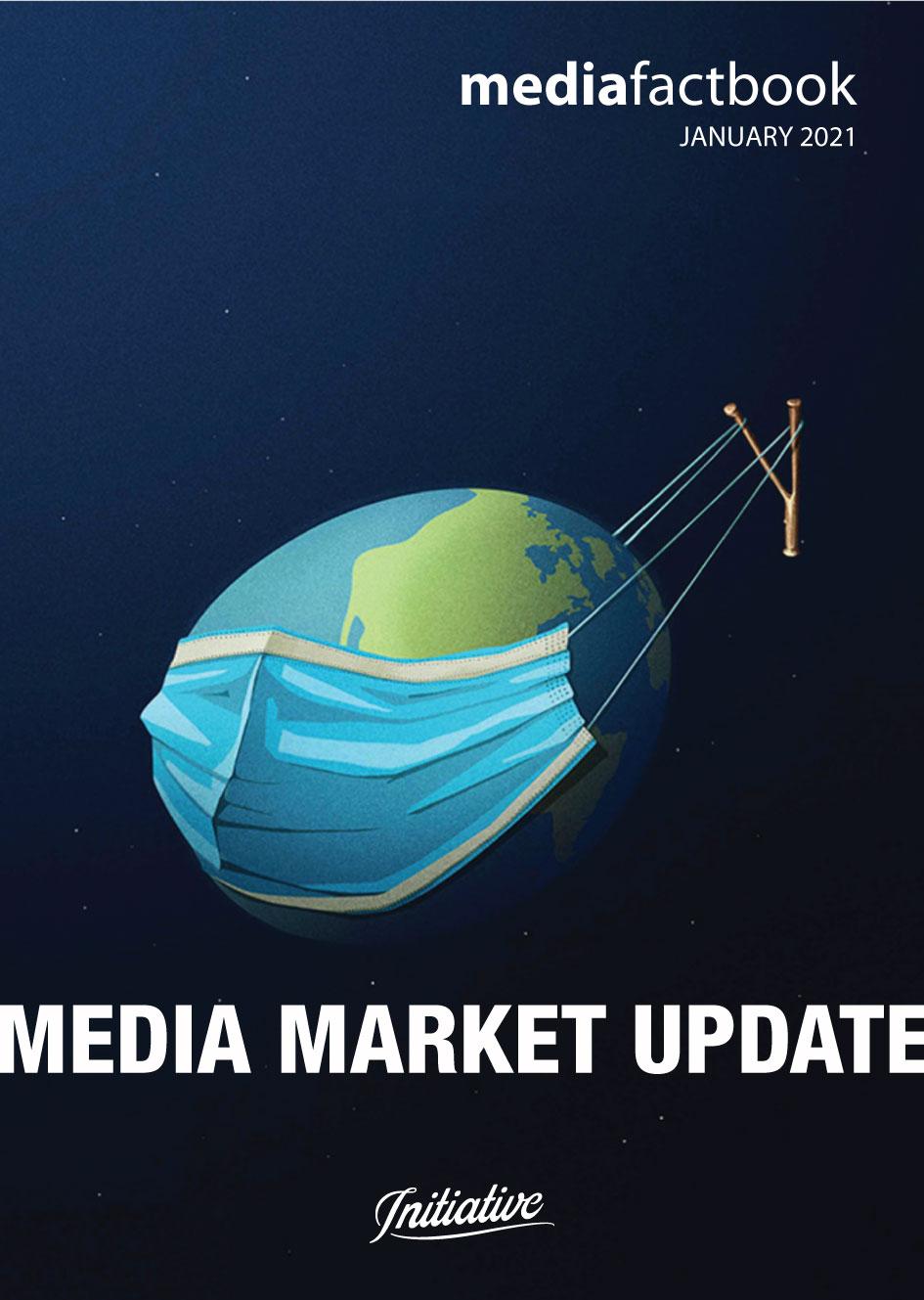 media Market update, Agenția Initiative: Piața de media din România a scăzut cu 2,7% în 2020, însă este așteptată o creștere de 4% în cursul acestui an