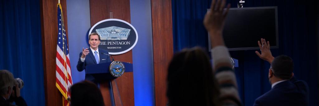 John Kirby, purtator de cuvant Pentagon