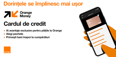 card de credit orange