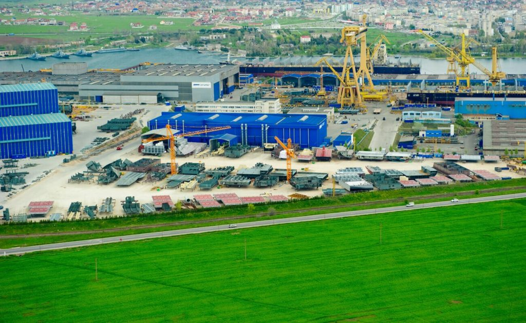 Damen Shipyards din Mangalia