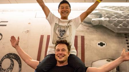 Yusaku Maezawa Elon Musk zbor pe luna
