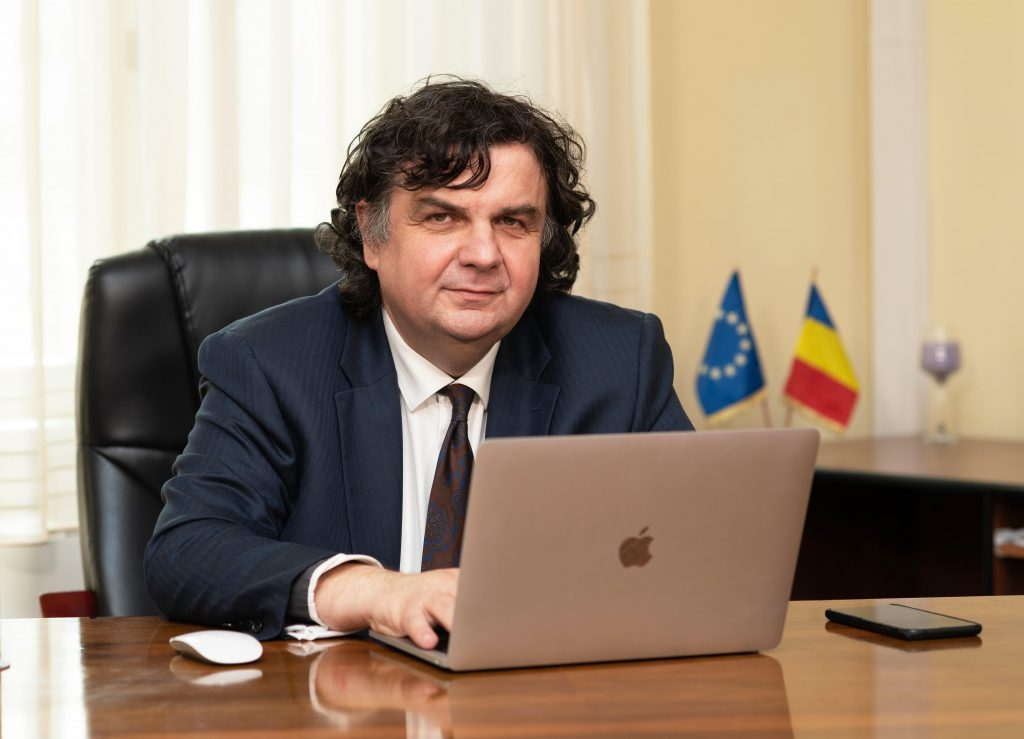 Florin Dragan - rector Universitatea Politehnica Timisoara