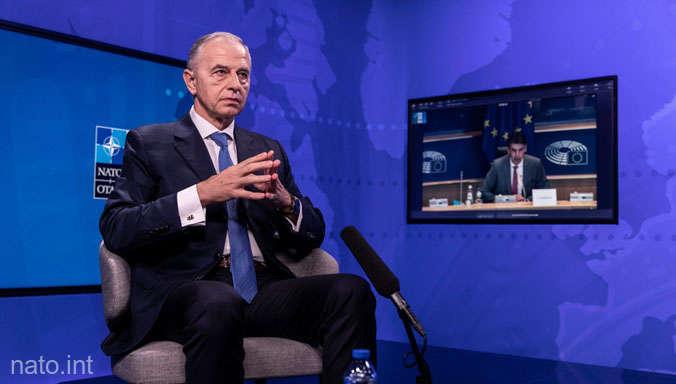 Mircea Geoana NATO
