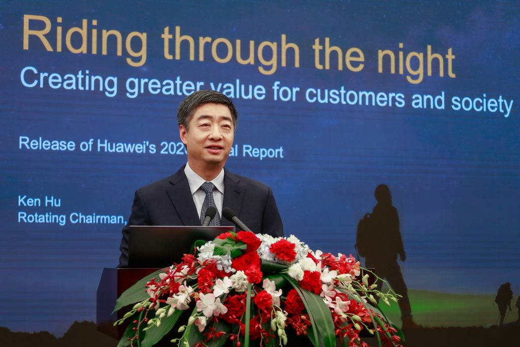 Ken Hu, Deputy Chairman Huawei - Huawei lansează Raportul Anual pentru 2020 venituri globale vanzari profit