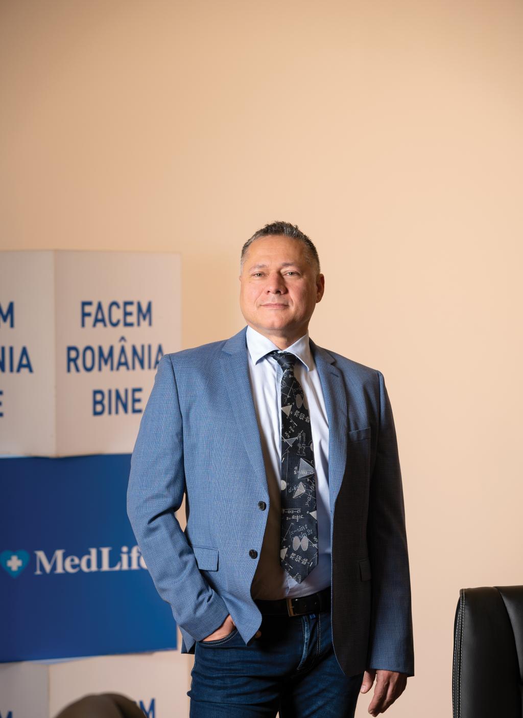 Mihai Marcu, CEO si Presedinte MedLife Group