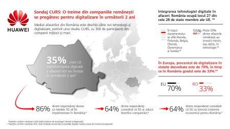 Sondaj CURS - O treime din firmele din România digitalizare