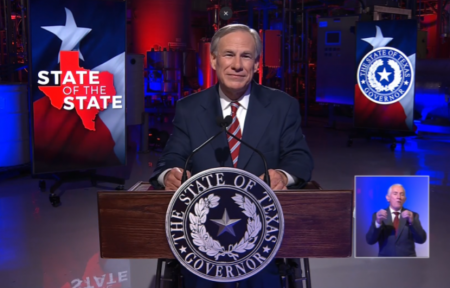 Guvernatorul republican al Texasului, Greg Abbott