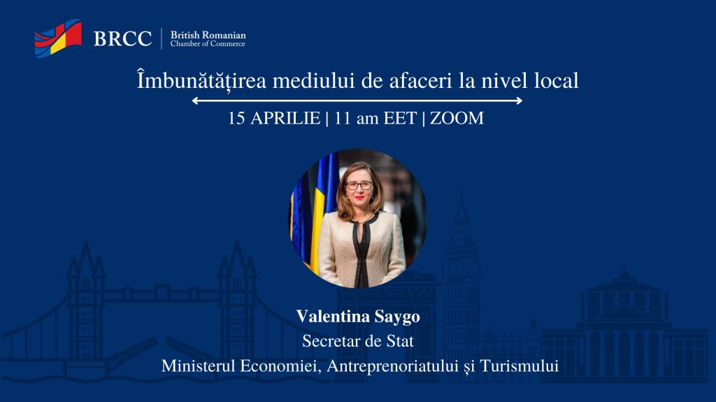 Camera de Comerț Britanică Română Valentina Saygo