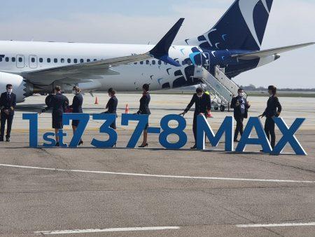 Blue Air Boeing 737-8 MAX