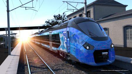 trenuri cu hidrogen de la Alstom