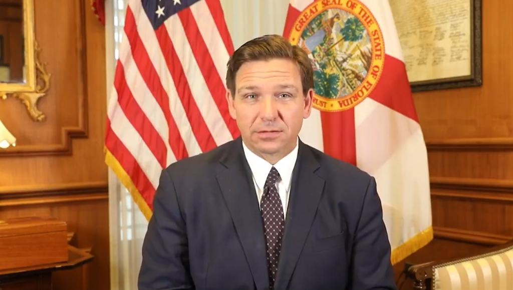 guvernatorului Ron DeSantis Florida