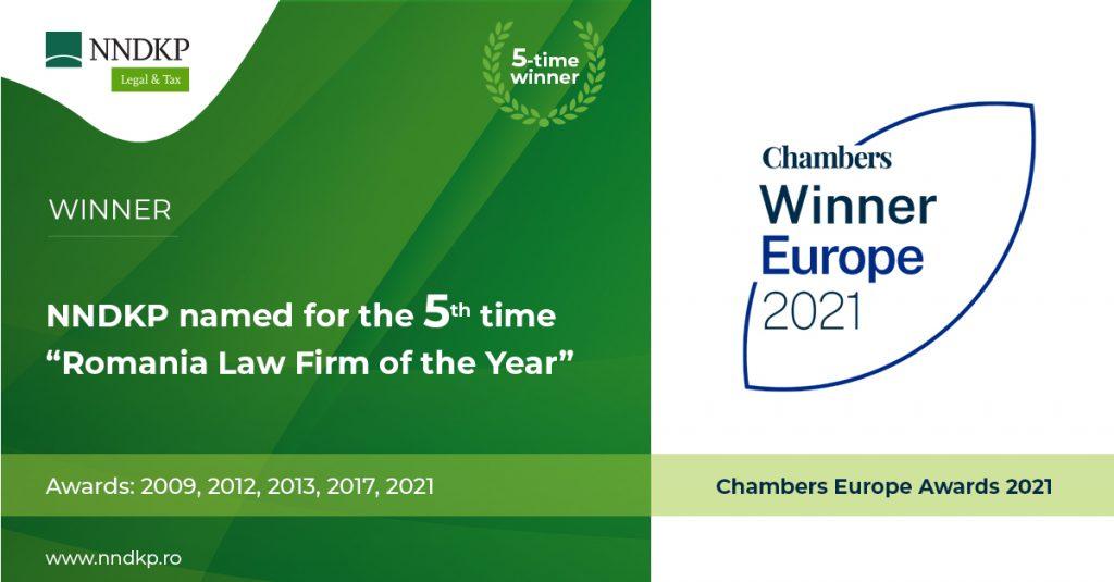 NNDKP premiu Chambers Europe