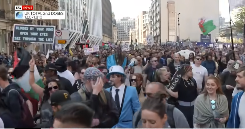 Proteste UK