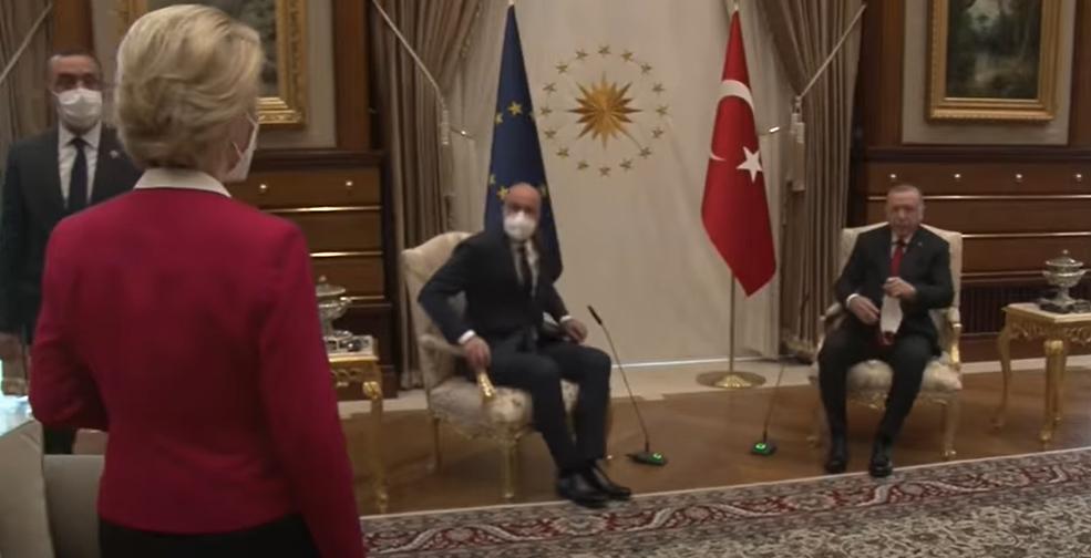 Von der Leyen Erdogan
