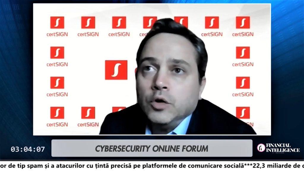Costin Burdun Certsign securitate cibernetica Cybersecurity Forum