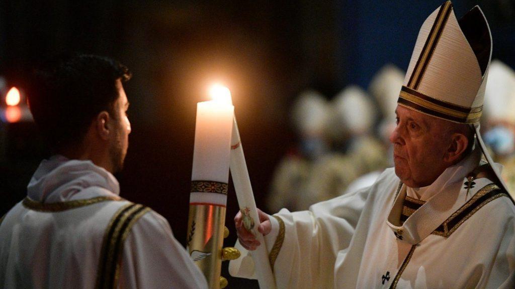 papa Francisc Paştele catolic